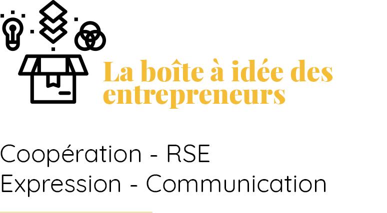 Coopération, RSE, expression, communication