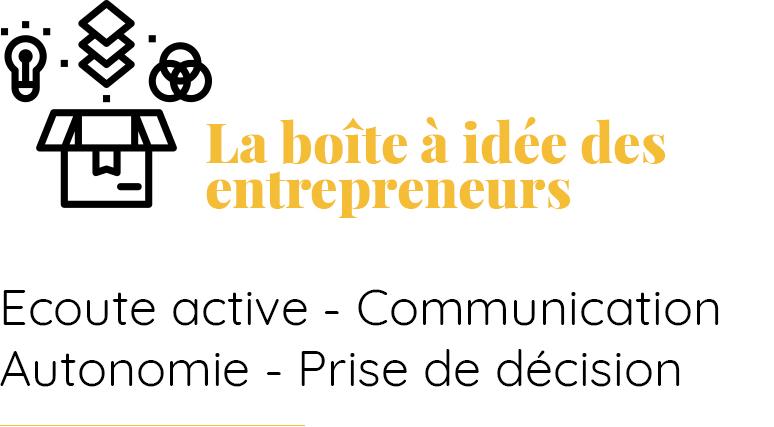 la boite a idee - Pierre Fasan