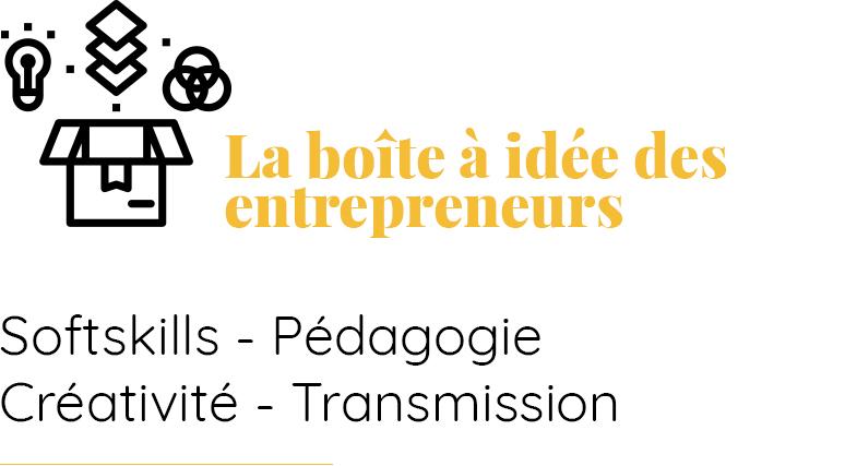 La boîte à idée des entrepreneurs - Bachir Sanogo
